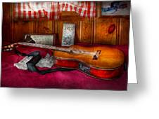 Music - Guitar - That Old Country Feel Greeting Card