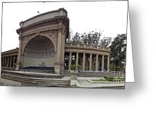 Music Pavillion At Golden Gate Park Greeting Card