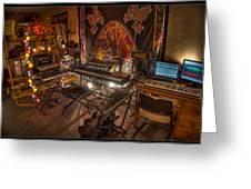 Music Studio Greeting Card