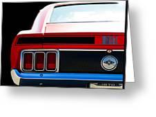 Mustang Mach 1 Greeting Card