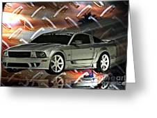 Mustang Saleen  Greeting Card