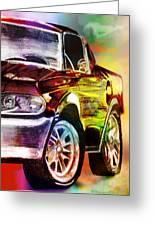 Mustang_2 Greeting Card by Whitney Bruneau