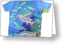Mutton Snapper Mens Shirt Greeting Card