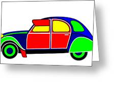 My Dream Car Greeting Card