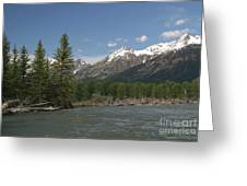 My Favorite Of The Grand Tetons Greeting Card