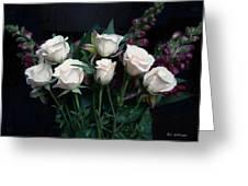 My Last Roses Greeting Card