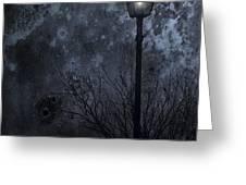 My Light Will Wait Greeting Card