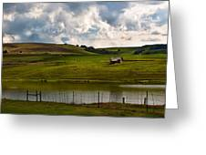 My Little Hut In The Midlands Greeting Card by Miguel Capelo