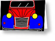 My Next Car En Face  Greeting Card