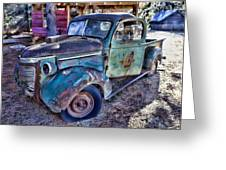 My Old Truck Greeting Card by Garry Gay