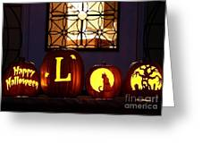 My Pumpkins Greeting Card