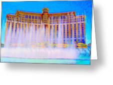 My Vegas Bellagio 2 Greeting Card