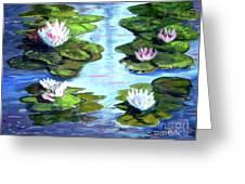 My Waterlilies Greeting Card