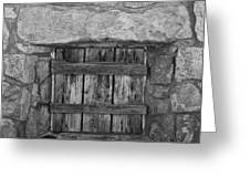 Mystery Door Greeting Card