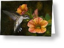 Mystical Flight Greeting Card
