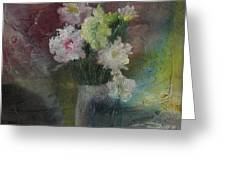 Mystical Flowers Greeting Card