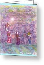 Mystical Stroll Greeting Card
