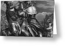 Mythology: Ares Greeting Card by Granger