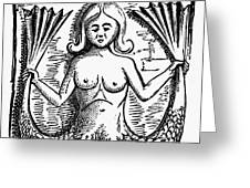 Mythology: Mermaid Greeting Card by Granger