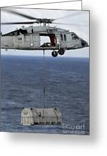 N Mh-60s Sea Hawk En Route Greeting Card