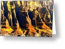 Na Pali 4 Greeting Card