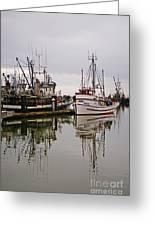 Nafco Fishing Boat Greeting Card