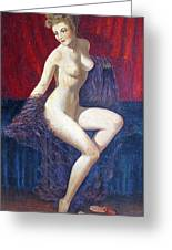 Naked Beauty Greeting Card