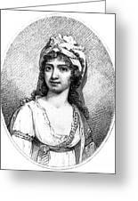 Nancy Storace (1765-1817) Greeting Card