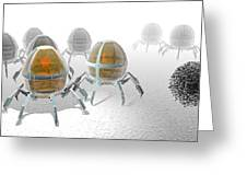 Nanorobots Greeting Card