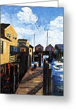 Nantucket Greeting Card by Anthony Falbo