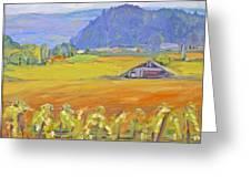 Napa Valley Mountains Greeting Card by Barbara Anna Knauf