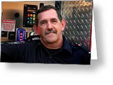 Napanee Fireman Greeting Card