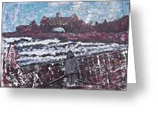 Narragansett In Winter Greeting Card