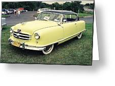 Nash Rambler Greeting Card