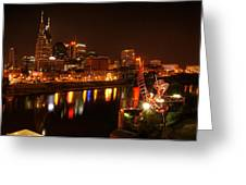 Nashville Lights Greeting Card