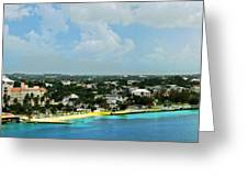 Nassau Bahamas  Greeting Card
