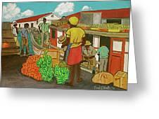 Nassau Fruit Boat Greeting Card