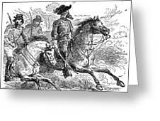 Nathan Bedford Forrest (1821-1877) Greeting Card