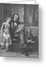 Nathaniel Hawthorne, American Author Greeting Card