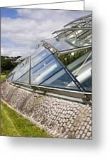 National Botanic Garden Wales Glasshouse Greeting Card