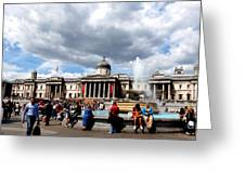 National Gallery At Trafalgar Square Greeting Card