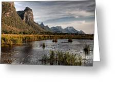 National Park Thailand Greeting Card by Adrian Evans