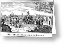 Native American Punishment Greeting Card