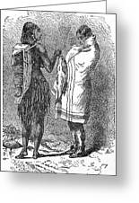 Native Americans: Flatheads Greeting Card