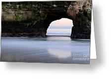Natural Bridges Arch Greeting Card
