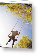 Natural Swing Greeting Card