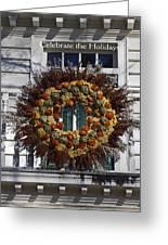 Natural Wreath Greeting Card
