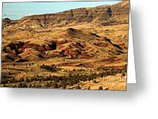 Naturally Painted Hills Greeting Card