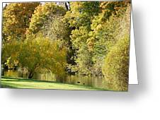 Nature Of The Fall Greeting Card