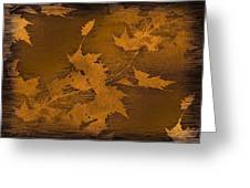 Natures Gold Leaf Greeting Card
